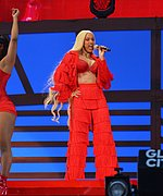 Cardi B at Global Citizen Festival
