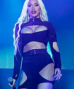 Cardi B Performs at Mala Luna Festival